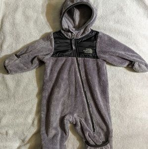 The North Face Baby Infant Snow Winter Suit Gray S